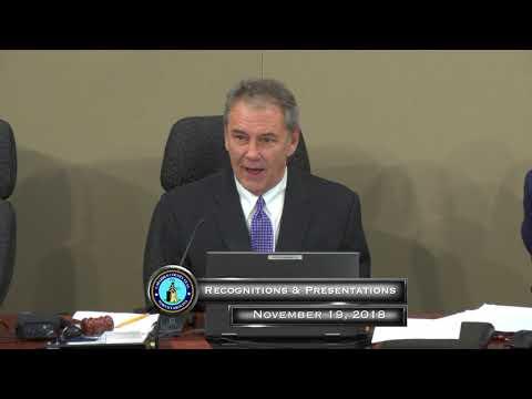 Cabarrus County BOC Regular Meeting 11.19.2018