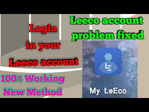 Lecco Account Problem fixed|Log in into Leeco account|Get Official Updates|100% Working