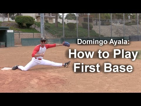 How to Play First Base with Domingo Ayala