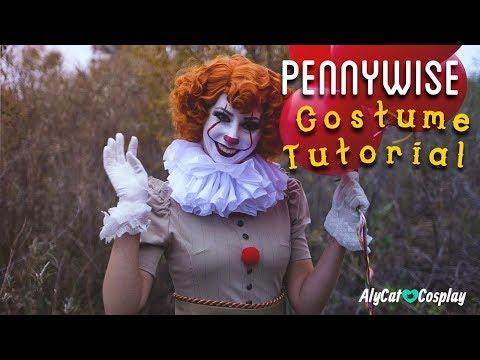 DIY-Pennywise Costume Tutorial