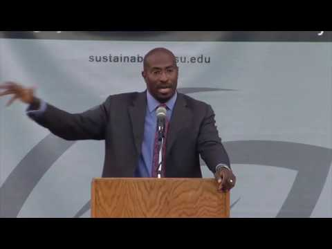 """Beyond Green Jobs: The Next American Economy"" by Van Jones"