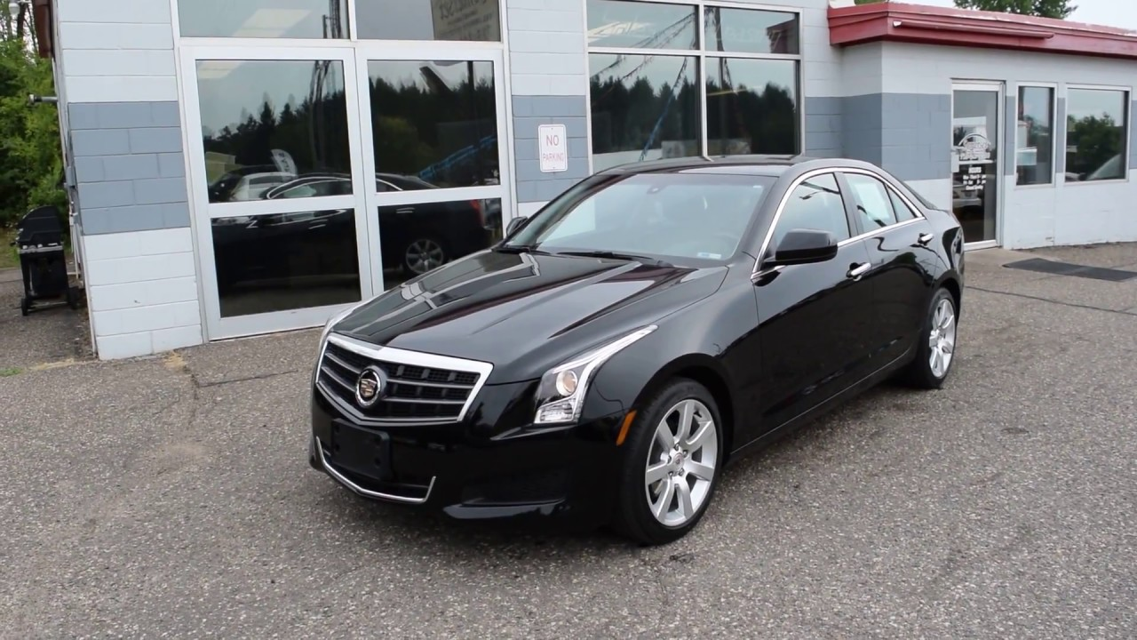 2014 cadillac ats standard rwd used car for sale somerset wisconsin youtube. Black Bedroom Furniture Sets. Home Design Ideas