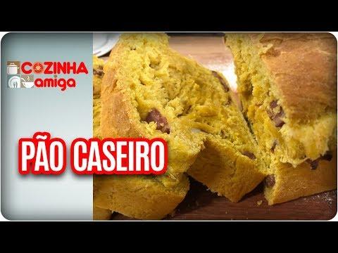 Pão De Cenoura Com Calabresa - Gabriel Barone | Cozinha Amiga (20/03/18)