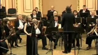 J. Brahms Violin Concerto D-dur Op. 77, 1 mvt (1of4), Oksana Hretchyn