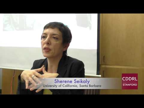 """ARD Stanford: Sherene Seikaly on """"Egypt's Bread Intifada: On the Subject of the People"""""""