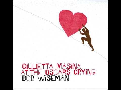 Giulietta Masina at the Oscars Crying by Bob Wiseman