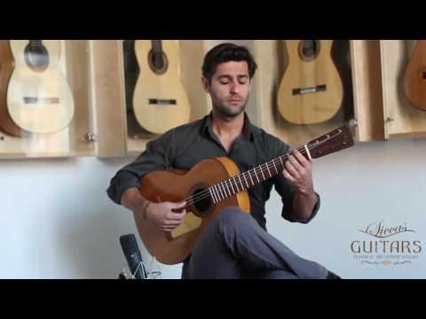 Jose Ramirez guitar 1900 played by Murat Usanmaz