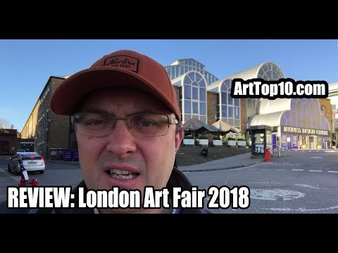 REVIEW: London Art Fair 2018 by Robert Dunt Painter and Foun