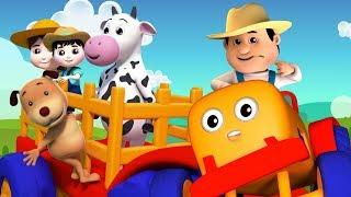 Fazendeiro Na Dell   Rimas de berçário   Canções de crianças   Farmer In The Dell   Nursery Rhymes