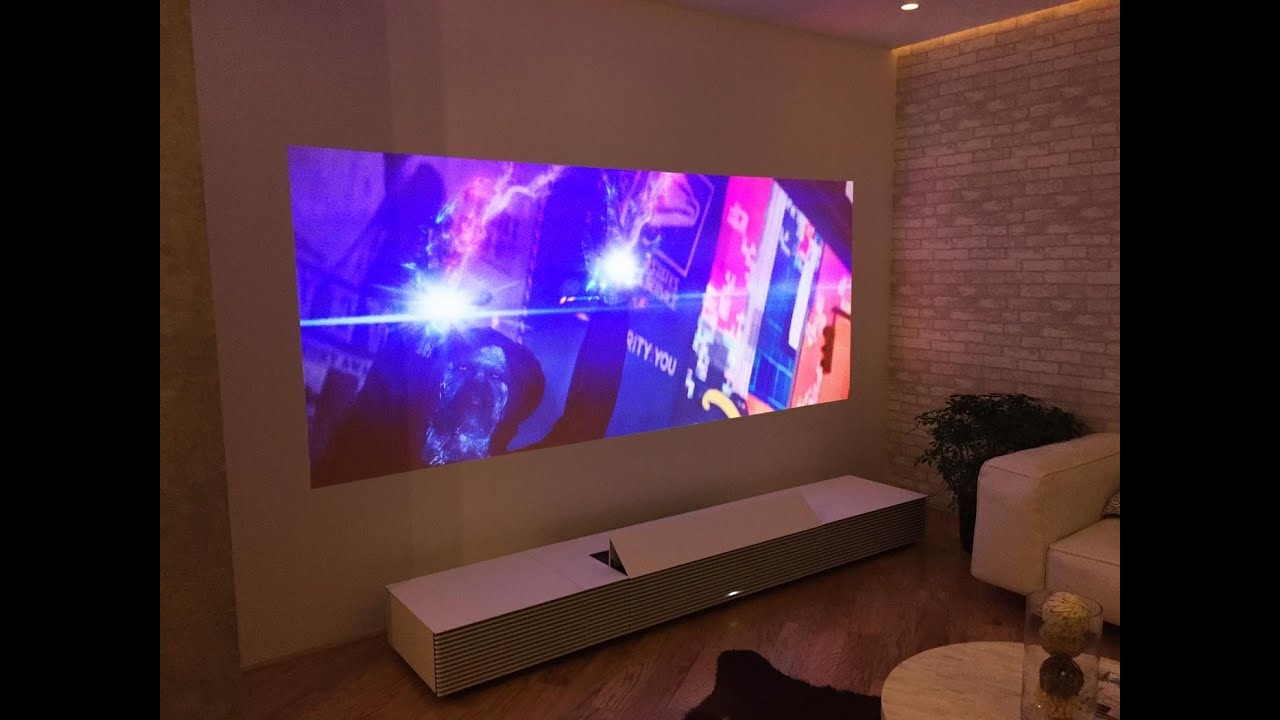 Sony Lspx W1s 4k Ultra Short Throw Projector Youtube