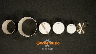 Gear4music Junior 5 Piece Drum Kit   Assembly guide