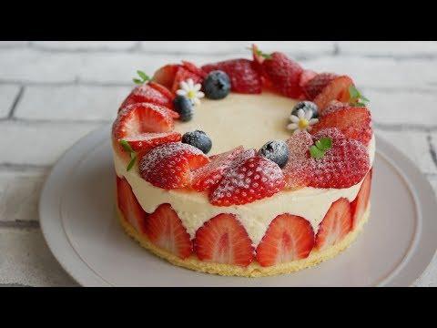 ムース ケーキ いちご