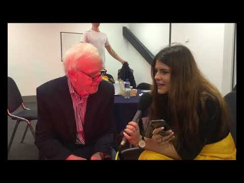In conversation with Jeremy Bulloch at Liverpool Comic Con 2018