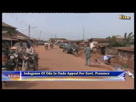 Indegenes of Oda in Ondo appeal for govt. presence