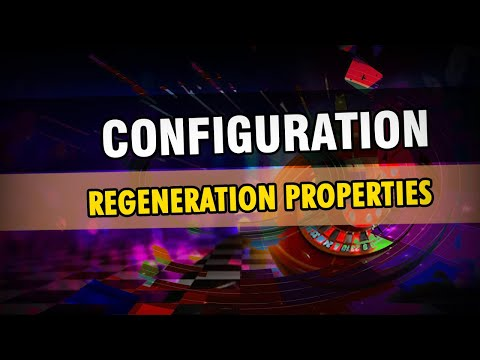 0 - #5 Regeneration Properties