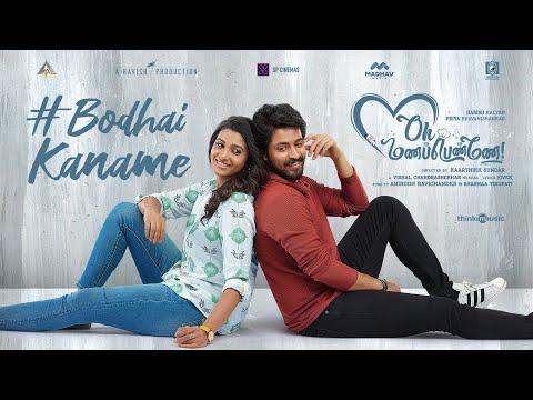 Bodhai Kaname Lyric Video   Oh Manapenne   Anirudh   Shashaa   Harish Kalyan   Priya Bhavanishankar