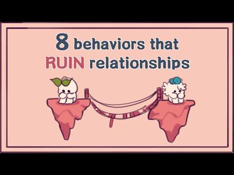 8 Behaviors That Ruin Relationships