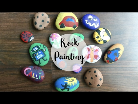 ROCK PAINTING ACTIVITY FTW