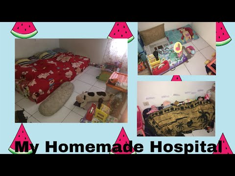Homemade Hospital rumah sakit buatan aku sendiri 🤗💖