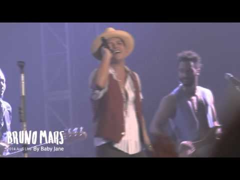 Bruno Mars [Just the Way You Are] @ 2014 Audi Live in Seoul - By Baby Jane♥