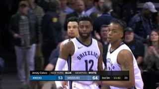 Knicks vs Grizzlies 17 01