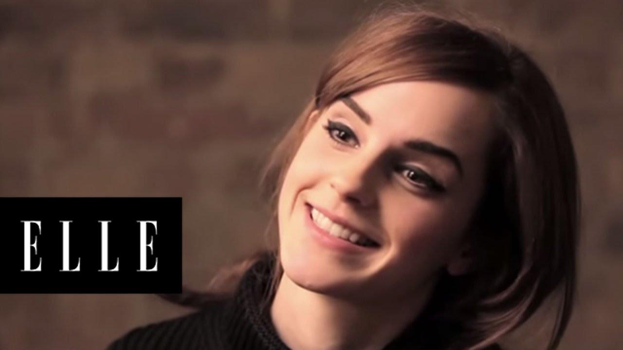 Emma Watson | Behind the Scenes | ELLE - YouTube