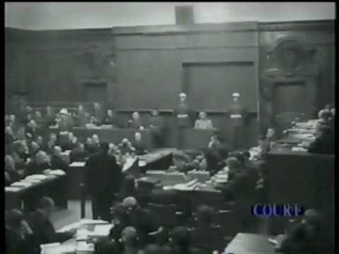Nuremberg Day 84 Goering (Jackson Cross)