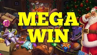 ★ Secrets of Christmas (NetEnt) ★ Wild Reel 2 & 4 - MEGA WIN !!