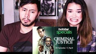 CRIMINAL JUSTICE | Hotstar Specials | Trailer Reaction!