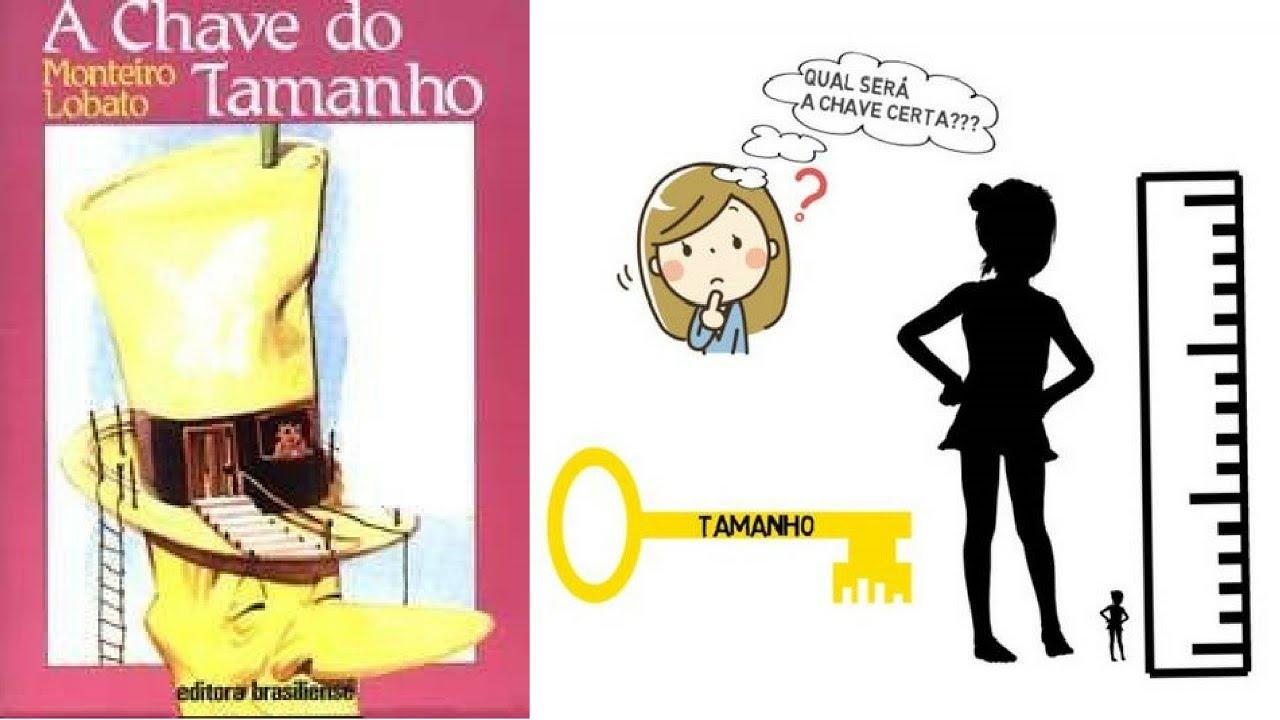b8f6f8b7a A CHAVE DO TAMANHO - MONTEIRO LOBATO │ RESENHA ANIMADA - YouTube