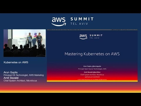 AWS Tel Aviv Summit 2018: Kubernetes on AWS