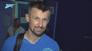 «Зенит-ТВ»: Сергей Семак о матче с «Интером» и подготовке к сезону