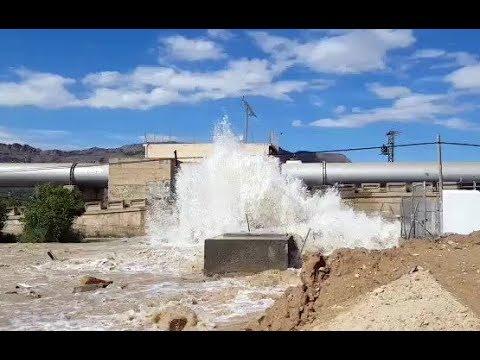 La tubería del trasvase del Tajo al Segura se rompe y vierte 80.000 metros cúbicos de agua