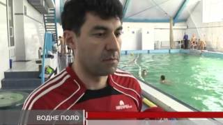 Юніорська збірна України з водного поло тре...
