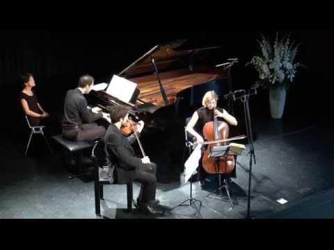 Schumann : Trio op. 63 - Trio Atanassov