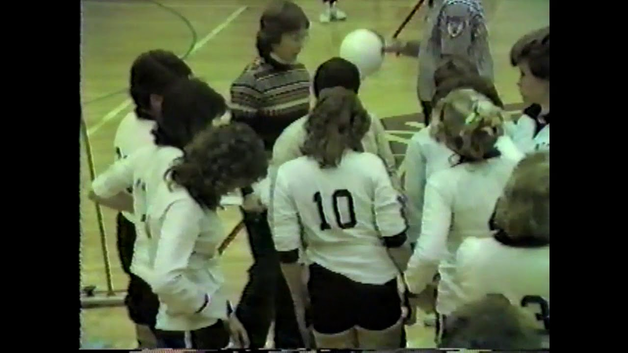 NCCS - Saranac Lake JV Volleyball  12-4-85