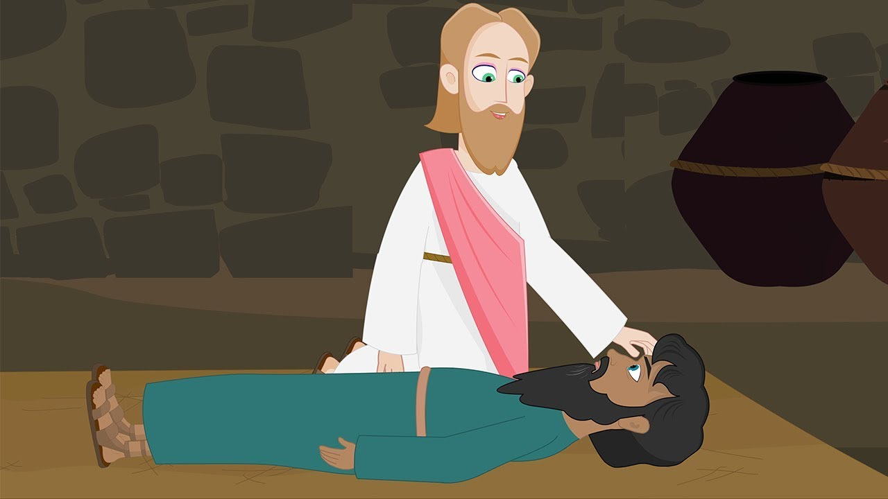 Download Miracles of Jesus Christ - Jesus Heals A Paralyzed Man - Holy Tales Bible Stories