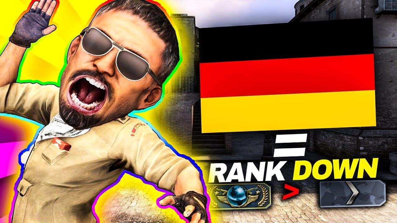 🤬jak STRACIĆ RANGE w CSGO grając z *Niemcami*😇