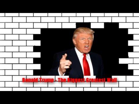 Funny Trump Building Mexican Wall