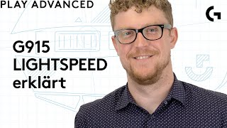 G915 LIGHTSPEED erklärt! Play Advanced mit Andrew Coonrad