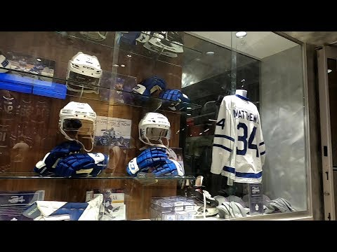 Toronto Maple Leafs Official Store & Scotia Bank Arena 2020