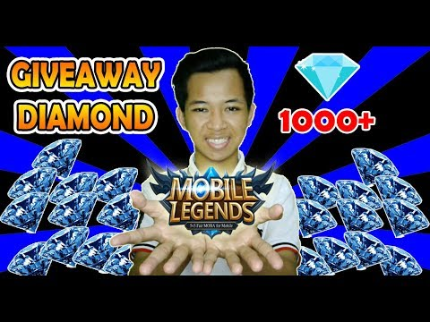 GIVEAWAY 1000 DIAMOND MOBILE LEGENDS SULTAN GIVEAWAY