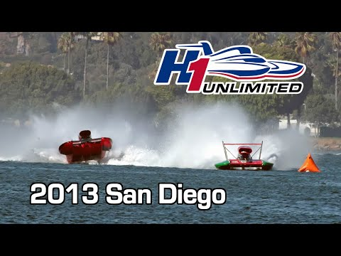 2013 H1 Unlimited San Diego Bayfair: CBS Sports Network