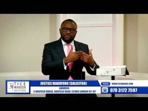 Tice Madox Solicitors - Crime: Criminal Defence by Justice Maduforo (Solicitor)