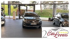 VW e-Golf 2020 Abholung Autostadt
