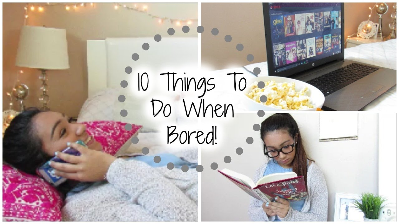 10 (Random) Things To Do When Your Home Alone Bored! - YouTube