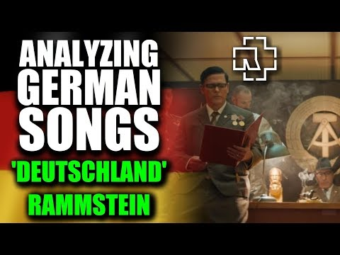 RAMMSTEIN - DEUTSCHLAND 🔥 English Lyrics Translation - Meaning & History Explained By A German
