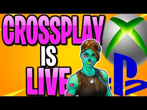 Sony Allows Cross-Play On Fortnite | PS4 & XBOX CROSS PLATFORM IS HERE (NOT CLICKBAIT)