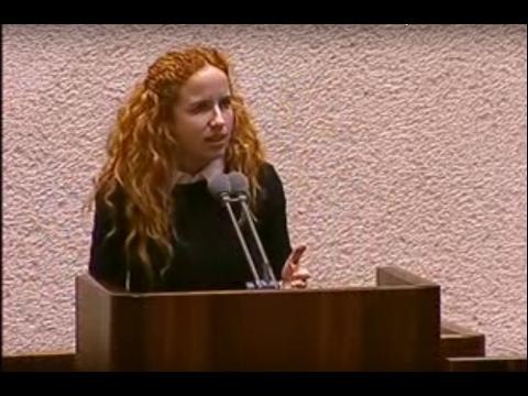 נאום הציונות של סתיו שפיר |  Stav Shaffir True Zionism Speech