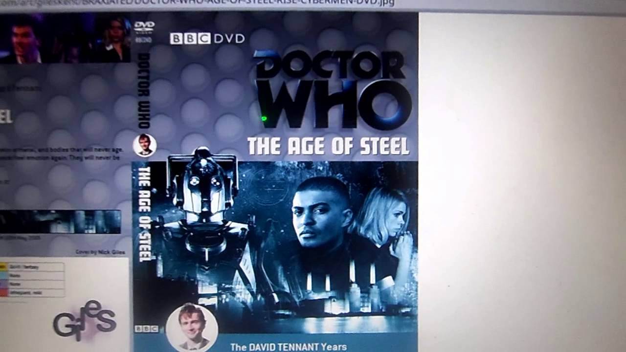 Doctor Who Monster Collection Cyberman Dvd Review Youtube